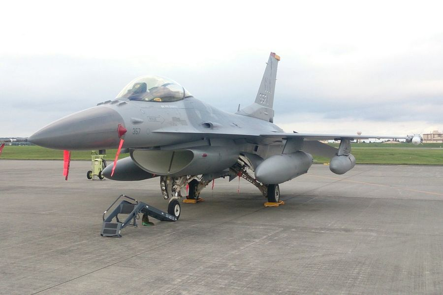 F-16 FIGHTING FALCON(゚∀゚) Airplane Military Japan Photography