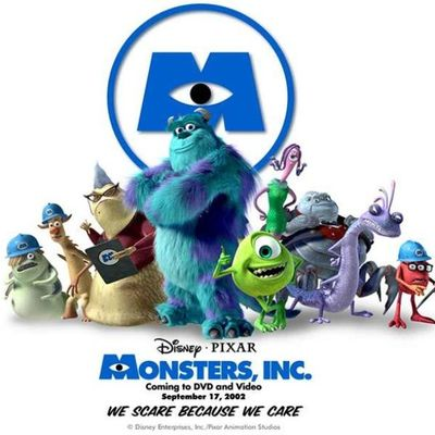Watchin Monstersinc this movie never gets old