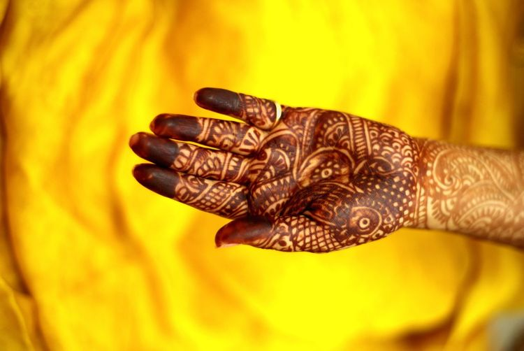 heena /mehandi (a beautiful ritual of traditional tattooing during weddings in India) Studio Shot Holi Close-up Henna Tattoo Traditional Ceremony Wedding Ceremony Ceremony Indian Culture  Wedding Wedding Vows Traditional Culture Bridegroom EyeEmNewHere
