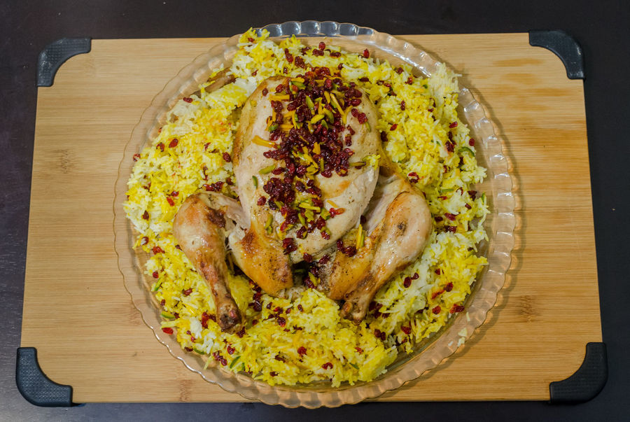 AfganiChicken Chiken Biriyani.. Close-up Directly Above Easy To Cook Food Food And Drink Freshness Garnish Healthy Eating Holiday Celebrations Indian Cuisine Indoors  Indulgence Murg Biriyani Persian Plate Pulao Ready-to-eat Rice Savory Pie Table Temptation Thanksgiving Dinner