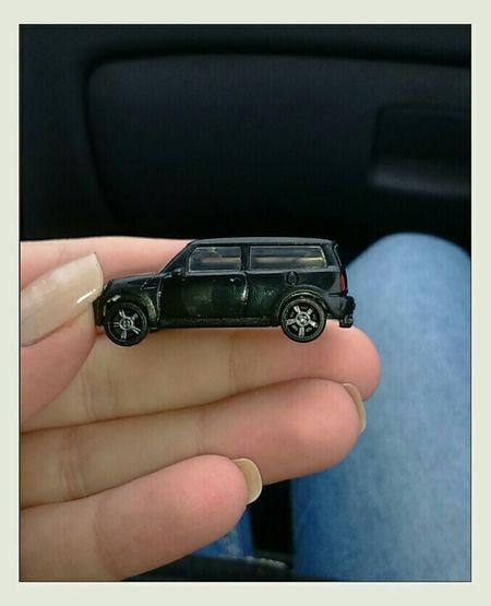 Моя новая машинка)) автомобиль моя маленькая подарок Kinder Surprise