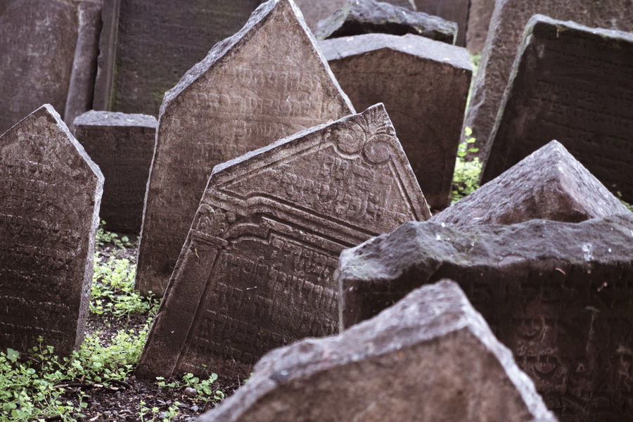 Old jewish cemetery Abandoned Ancient Bad Condition Close-up Damaged Day Destruction Deterioration Jewish Jewish Cemetery Messy Museum Obsolete Old Old Jewish Quarter Outdoors Prague Ruined Run-down Stone Material The Past Tombstone Tombstones Weathered
