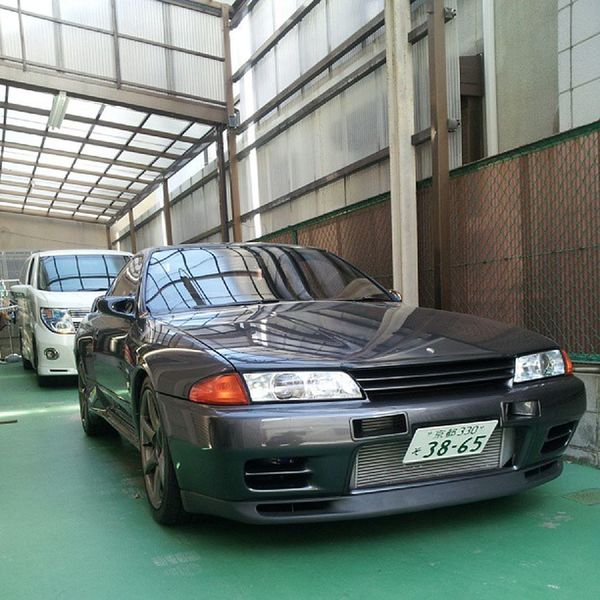 久々に陰干し(笑)BNR32 GT -R R32 Nissan skyline