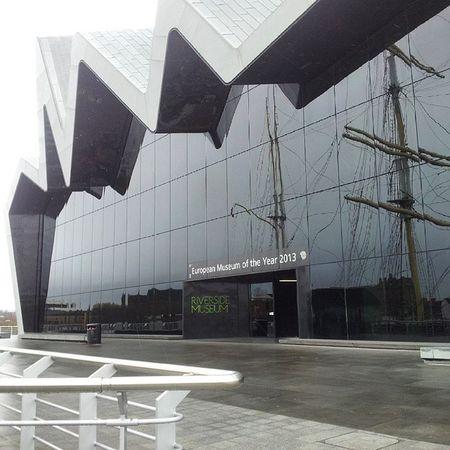 Riversidemuseum Clyde Glasgow  Instaglasgow Instascotland Igersglasgow Insta_Scotland Instagrammer Igersglasgow Latergram