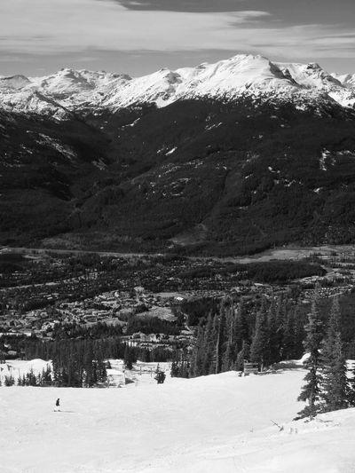 Mountains Snow Skiing Snow ❄ Snowboarding Winter Wintertime Landscape Scenery