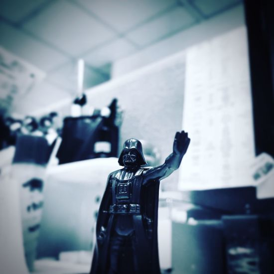 Working with Darth Vader Desks From Above Lieblingsteil