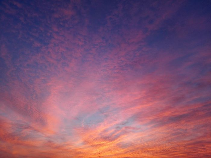 Another day another sunset Italy Huaweiphotography SantarcangeloDiRomagna Sunset Multi Colored Backgrounds Blue Pink Color Sky Cloud - Sky Sky Only Dramatic Sky EyeEmNewHere