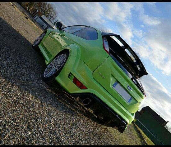 Green Green Green!  Ford Focus 305hp Self Portrait Sport Cars Snapchat Puissance