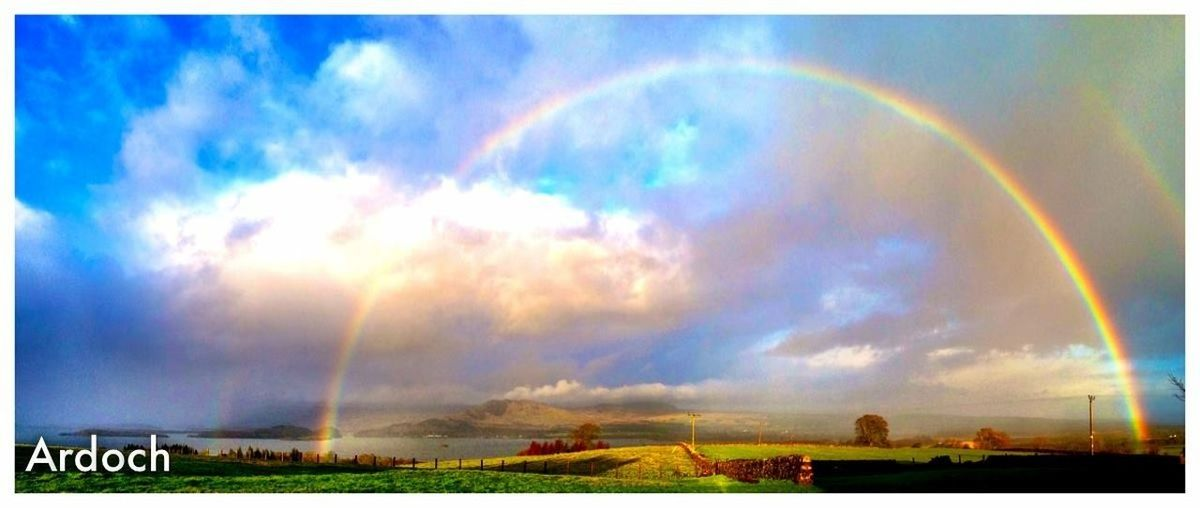 Ardoch LochLomond Rainbow Panorama Capture The Moment Nature EyeEm Nature Lover EyeEm Gallery Eye4photography  EyeEmBestPics