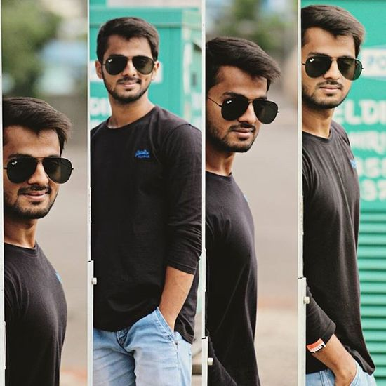 Learning some new stuff.. 😉 Photography Posing Editing Instapic Instalike Dimples  Beard Blackandblue Glares Goggles Menwithclass