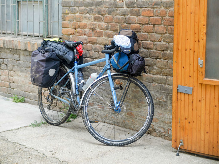 Bike Adventure Bike Trip Architecture Bicycle Bike Packing Bike Touring Building Exterior Built Structure City Day No People Outdoors Salsa Vaya