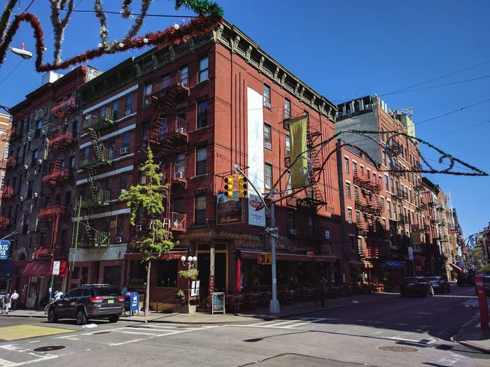 Outdoors Architecture Building Exterior Clear Sky Sky Shop Littleitaly Day No People Chinatown NYC New York City