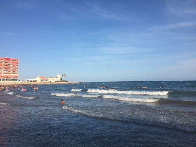 Being A Beach Bum Getting A Tan Swimming