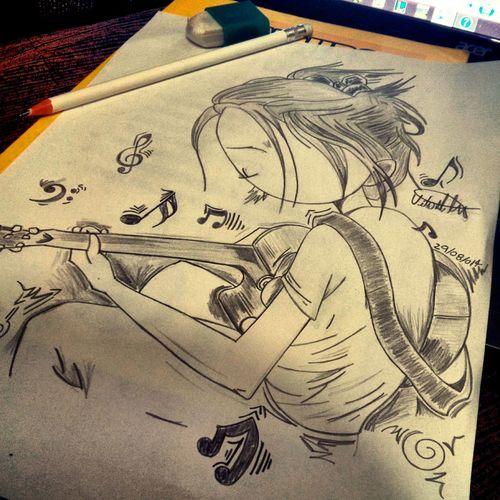 Vivo pra desenhar >< Minha Arte Desenhos Dias Melhores Pra Sempre Viva A Arte