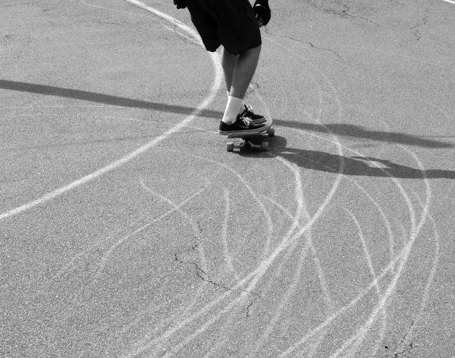 Skate Skateboarding Australia Blackandwhite Skidmarks Road Downhill Downhillskateboarding