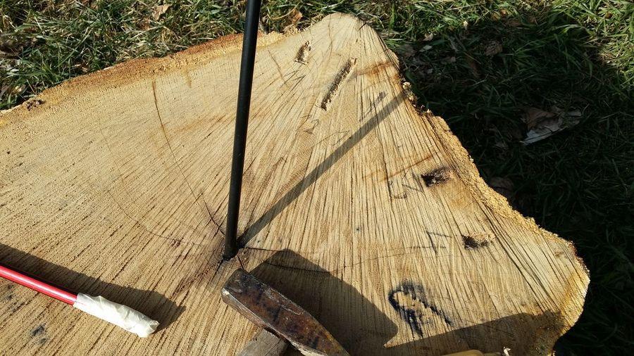 Dr Aufbau einer Sonnenuhr. Sonnenuhr Sunclock Wood Eiche Breitengrad