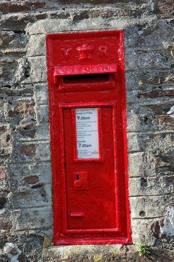 old postbox set
