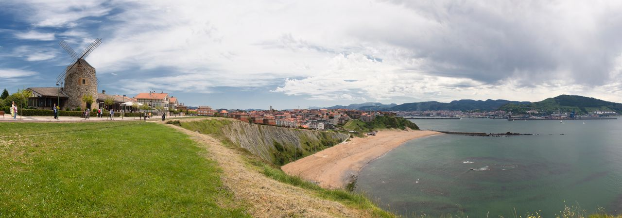 Aixerrota Basque Country Beach Coast Coastline Euskadi Euskal Herria Euskalherria Landscape Molino Pais Vasco Panorama Panoramic Panoramic Photography Panoramic View Windmill Landscapes With WhiteWall