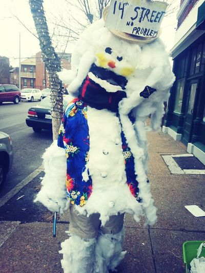 The Jamacain Snowman