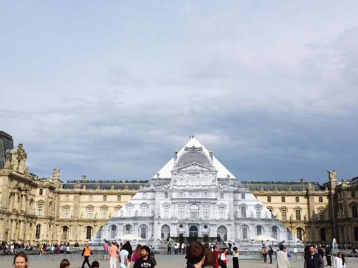 The Magic Mission Musedelouvre Pyramide Du Louvre Pyramid of Louvre just disappeared EyeEm Diversity The Architect - 2017 EyeEm Awards