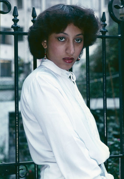 80's Fashion, Claudette! Afro-caribbean Beauty Focus On The Eyes Beautiful Woman Day Fashion Looking At Camera One Person Outdoors Portrait Posing Real People Young Adult Young Women
