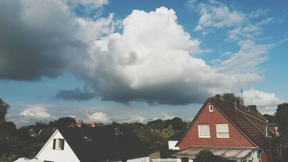 Big fluffy cloud♡ Nature Sky And Clouds View From My Window Sun