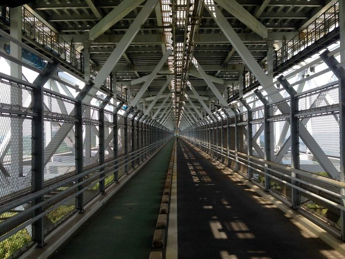 Interior Of Innoshima Bridge