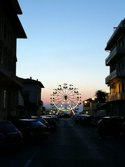 Fun Play Sky Sunset Outdoors Day Big Wheel Friends , Group , Tranquility, Love Italy🇮🇹 Nature_collection