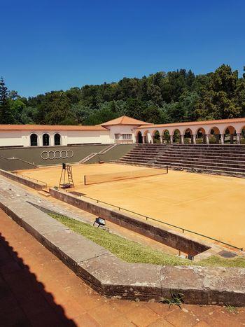 tennis court Tenniscourt Tennis 🎾 Sand Politics And Government Tree Agriculture Rural Scene