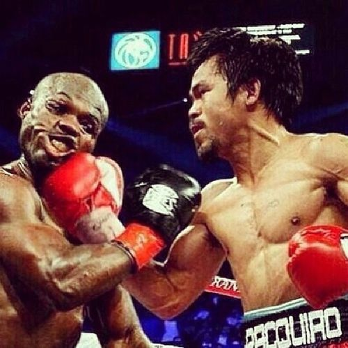 Manny Pacquiao!!!!!! Eto talaga yon eh! Bestcapture Deformedface Bradley  Rematched manny pacman