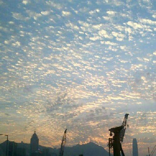 Check out this evening's Skyporn Cloudporn Goldenhour in Hk onlyinhk HongKong