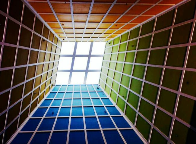 Architecture Built Structure Pattern Modern Building Interior Building Lights Building Colors Rainbow Colors Astract