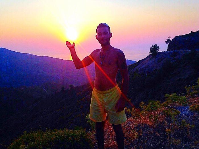 Το ήλιο βασίλεμα της Χίου • The sunset of Chios Greeksunset Chios Ellada  Greece