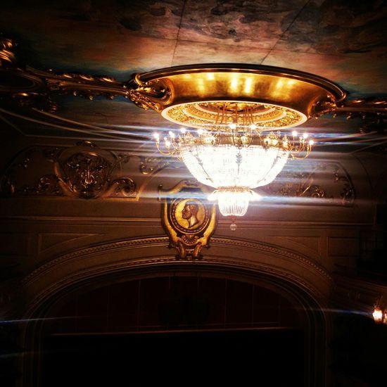 The Places I've Been Today Balet Giselle Loveculture Interior Design Narodno Pozoriste Beograd Beograd_nocu ☺💜💛