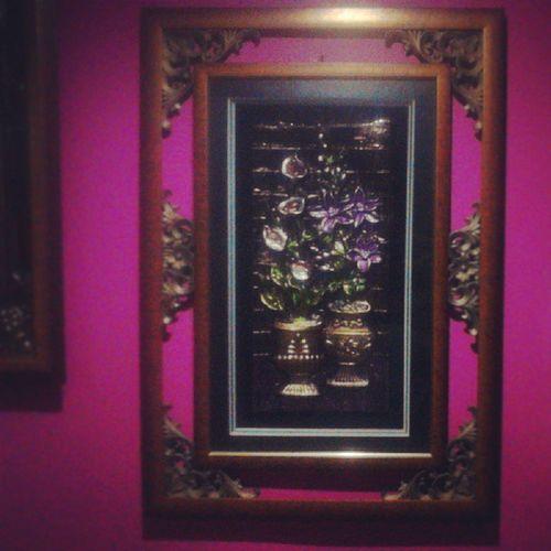 16. Frame in the bedroom. LovingThePink Fmsphotoaday