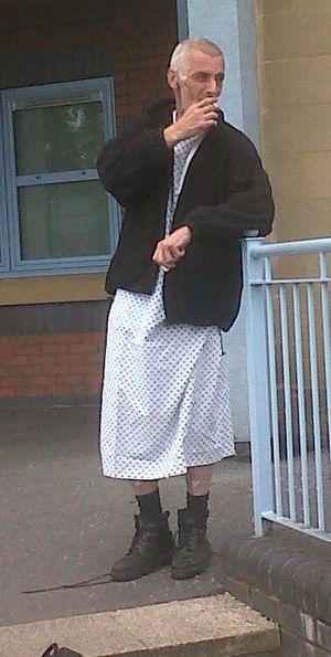 I Spy Outside The Hospital Ward...