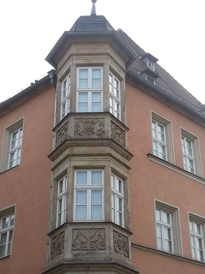 Architecture Balcony Building Building Exterior Built Structure City Day Exterior Façade Germany Low Angle View No People Outdoors Repetition Residential Building Residential Structure Sky Window