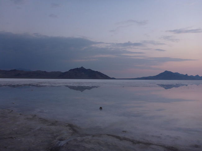Dawn patrol on the flooded Bonneville Salt Flats. Bonneville Salt Flats Colorful Dawn Patrol Outdoor Photography Outdoors Photography Sky Skyporn Sunrise UtahisRad Wndrlst