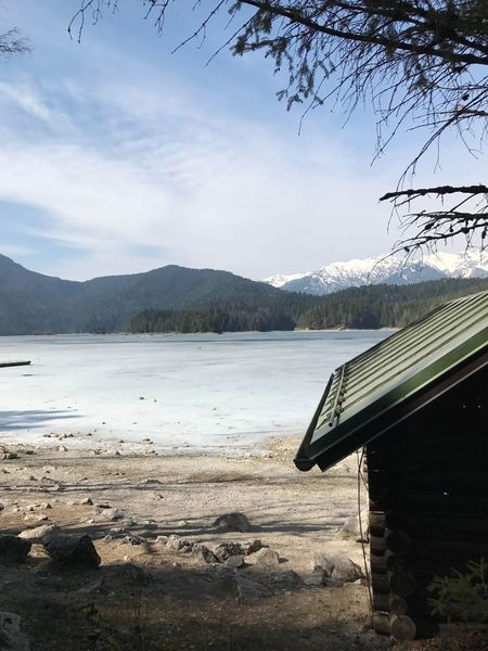 It was amazing weather and moment when i was in eibsee lake in germany 😍❤️ Water Nature Sky Beauty In Nature Outdoors Day Mountain Tranquil Scene Scenics Tree Cities Travel Tourism Germany Garmisch Eibsee