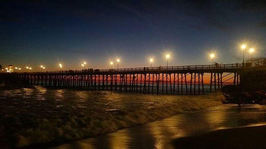 Bonfire nights in oside Bonfire Oceanside Sandiego Beach Sunset Pier Oceansidepier