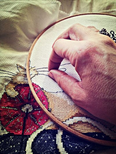 Sewing Hobbies Show Me Your Hand