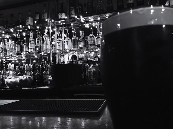 Night Illuminated Alcohol Indoors  Drink Refreshment Bar Food And Drink Nightlife No People Nightclub Close-up Freshness Guinness Dublin EyeEmNewHere EyeEmNewHere