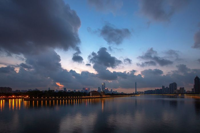 好心情(1) EyeEm Selects Sky Water Night Cloud - Sky City Architecture