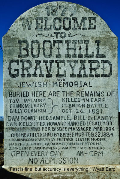 Legendary #lawman #WyattEarp was born on this day and he is appropriately #quoted with a scene from the place where his fame was made, #TombstoneAZ. If this #quotograph resonates with you feel free to #repost for others to enjoy Boot Hill Clantons Grass Grave Gun Ok Corral Q Quotograph Tomb Wyatt Earp