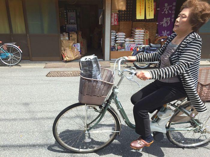 Streetphotography ママチャリ