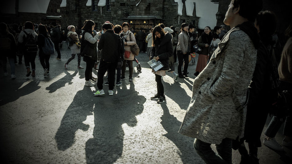 Day Harry Potter Men Osaka Japan Outdoors Real People Shadow Standing Sunlight And Shadow Universal Studios Japan Winter Wizarding World Of Harry Potter WizardingworldofHarryPotter Women EyeEmNewHere EyeEm Selects