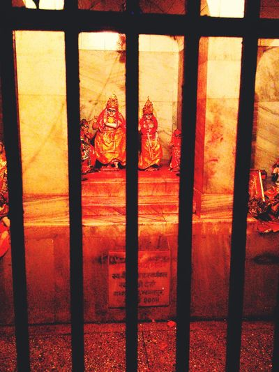 Radhakrishnan Temple Murti Prison Window Indoors  Crime Prisoner Law Trapped