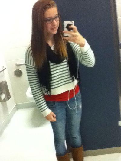 School selfies yo ✌