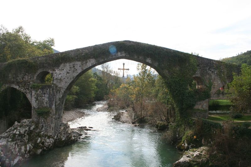 Arch Arch Bridge Architecture Asturias Beauty In Nature Bridge Bridge - Man Made Structure Built Structure Canal Cangas De Onís Connection Day Engineering Nature No People Outdoors River Scenics Sky SPAIN Tranquil Scene Tranquility Travel Destinations Tree Water