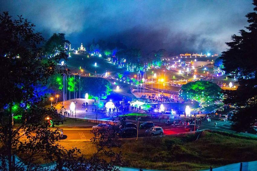 Night Illuminated No People Landscape Cloud - Sky Outdoors Tree Sky Noche Luz Luz Y Sombra  Navidad MerryChristmas
